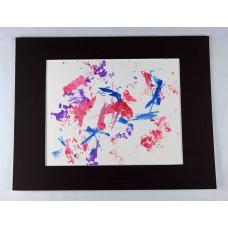 "Parrot Painting: ""Bluebird Passionfruit"""