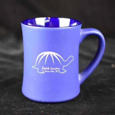 Reptile Gardens Mug - Blue with Tortoise